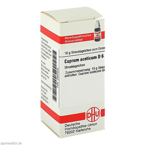CUPRUM ACET D 6, 10 G, Dhu-Arzneimittel GmbH & Co. KG