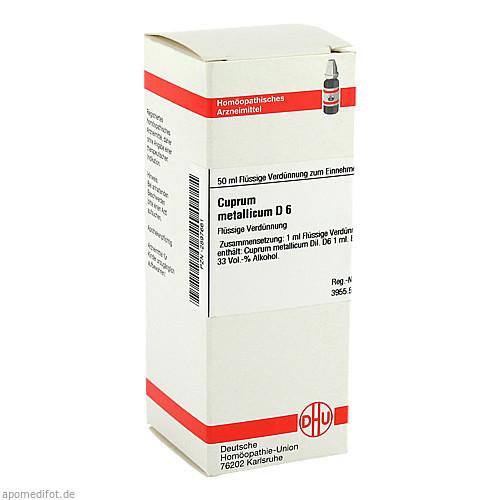 CUPRUM MET D 6, 50 ML, Dhu-Arzneimittel GmbH & Co. KG