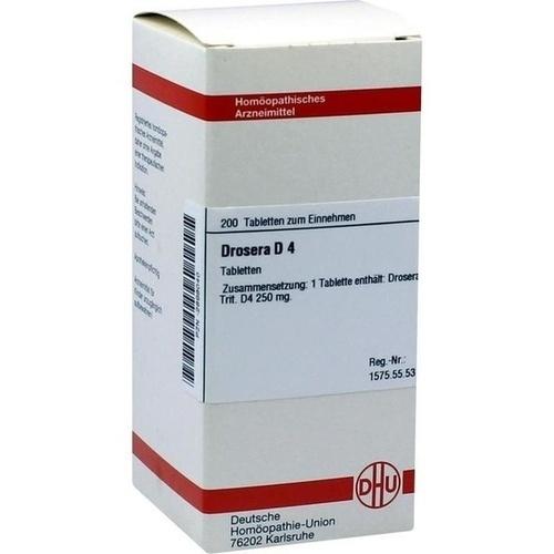 DROSERA D 4, 200 ST, Dhu-Arzneimittel GmbH & Co. KG