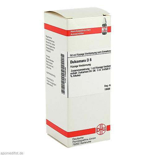 DULCAMARA D 6, 50 ML, Dhu-Arzneimittel GmbH & Co. KG