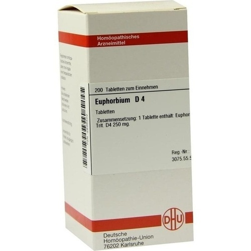 EUPHORBIUM D 4, 200 ST, Dhu-Arzneimittel GmbH & Co. KG