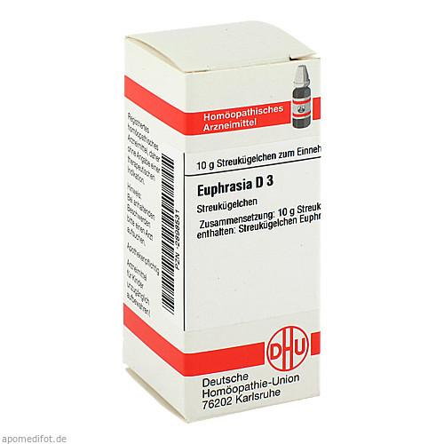 EUPHRASIA D 3, 10 G, Dhu-Arzneimittel GmbH & Co. KG