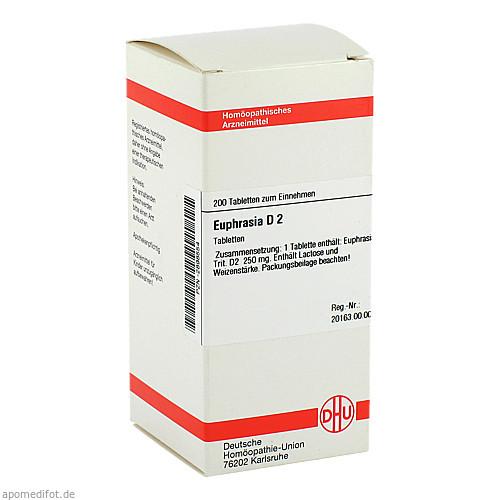 EUPHRASIA D 2, 200 ST, Dhu-Arzneimittel GmbH & Co. KG