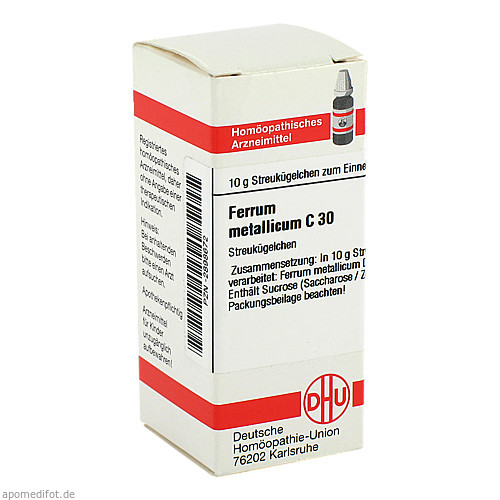 FERRUM MET C30, 10 G, Dhu-Arzneimittel GmbH & Co. KG