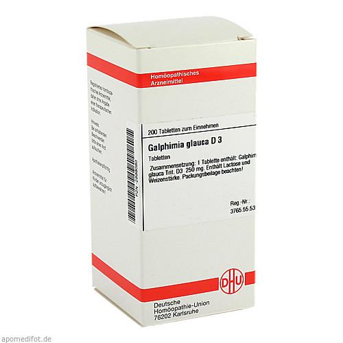 GALPHIMIA GLAUCA D 3, 200 ST, Dhu-Arzneimittel GmbH & Co. KG