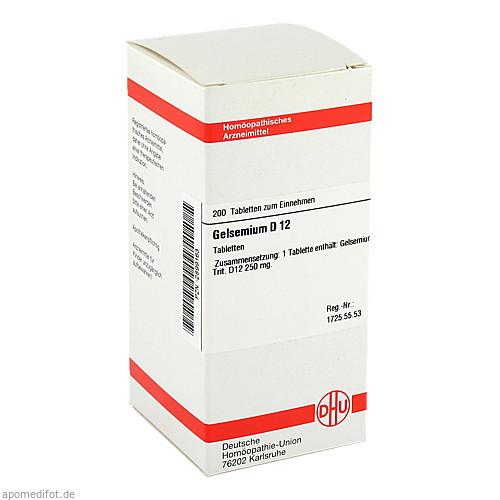 GELSEMIUM D12, 200 ST, Dhu-Arzneimittel GmbH & Co. KG