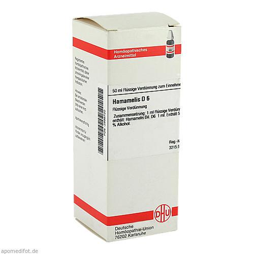 HAMAMELIS D 6, 50 ML, Dhu-Arzneimittel GmbH & Co. KG