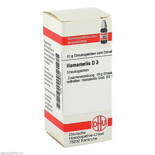 HAMAMELIS D 3, 10 G, Dhu-Arzneimittel GmbH & Co. KG