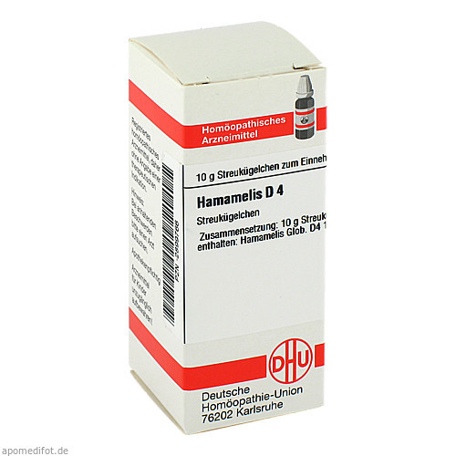 HAMAMELIS D 4, 10 G, Dhu-Arzneimittel GmbH & Co. KG