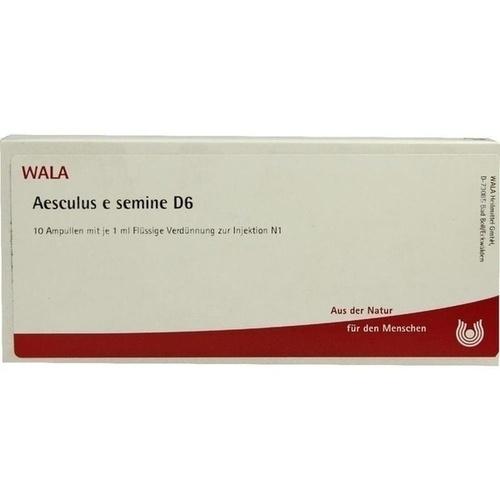 AESCULUS E SEMINE D 6, 10X1 ML, Wala Heilmittel GmbH