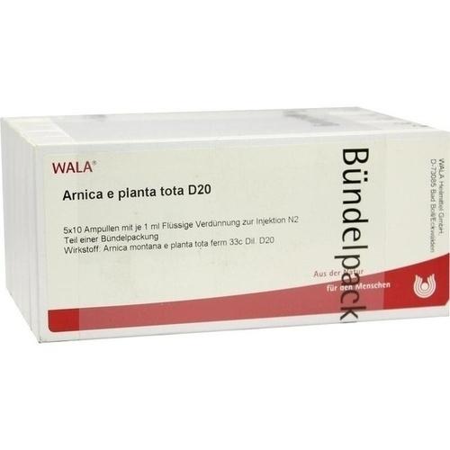 ARNICA E PLANTA TOTA D20, 50X1 ML, Wala Heilmittel GmbH