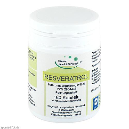 Resveratrol Komplex Vegi Kapseln, 180 ST, G & M Naturwaren Import GmbH & Co. KG
