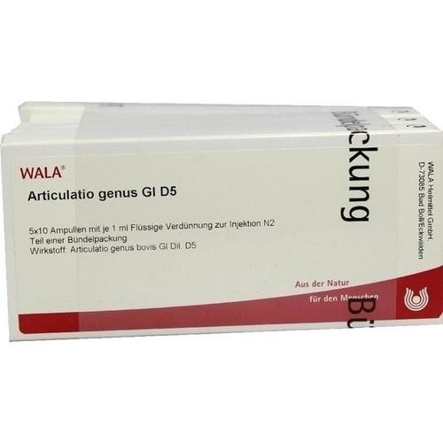 ARTICULATIO GENUS GL D 5, 50X1 ML, Wala Heilmittel GmbH