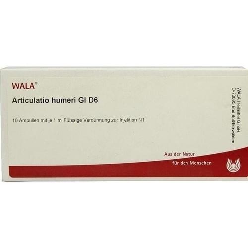 ARTICULATIO HUMERI GL D 6, 10X1 ML, Wala Heilmittel GmbH