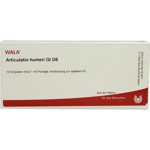 ARTICULATIO HUMERI GL D 8, 10X1 ML, Wala Heilmittel GmbH