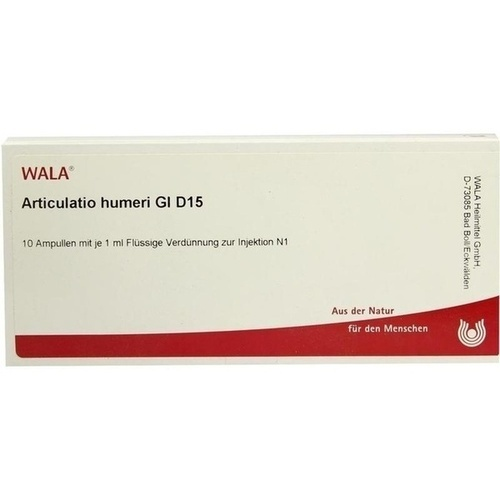 ARTICULATIO HUMERI GL D15, 10X1 ML, Wala Heilmittel GmbH