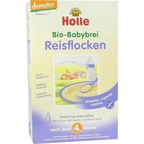 Holle Bio-Babybrei Reisflocken, 250 G, Holle baby food GmbH