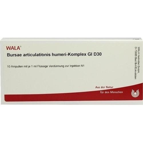 BURSAE ARTI HUM-KOM GL D30, 10X1 ML, Wala Heilmittel GmbH
