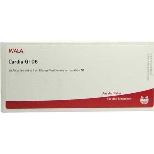 CARDIA GL D 6, 10X1 ML, Wala Heilmittel GmbH