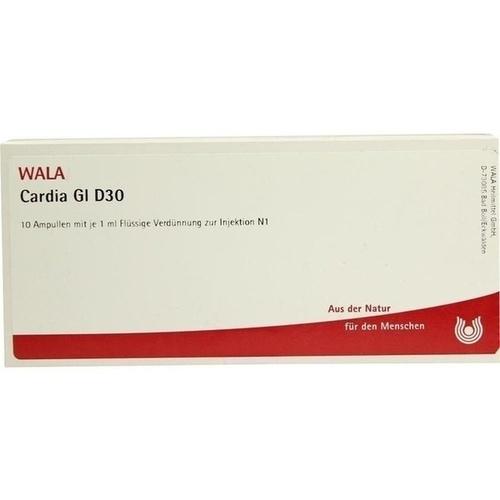 CARDIA GL D30, 10X1 ML, Wala Heilmittel GmbH