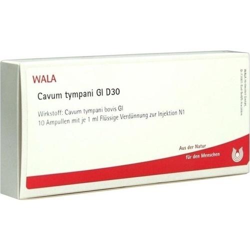 CAVUM TYMPANI GL D30, 10X1 ML, Wala Heilmittel GmbH