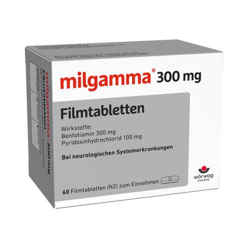 milgamma 300mg Filmtabletten, 60 ST, Wörwag Pharma GmbH & Co. KG