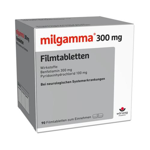 milgamma 300mg Filmtabletten, 90 ST, Wörwag Pharma GmbH & Co. KG