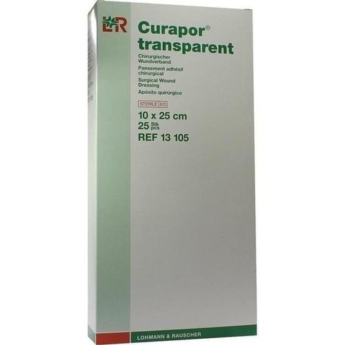 Curapor transparent Wundverband steril 10x25cm, 25 ST, Lohmann & Rauscher GmbH & Co. KG