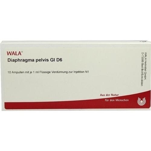 DIAPHRAGMA PELVIS GL D 6, 10X1 ML, Wala Heilmittel GmbH