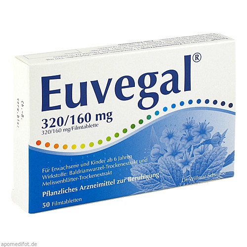 Euvegal 320/160mg, 50 ST, Dr.Willmar Schwabe GmbH & Co. KG
