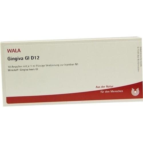 GINGIVA GL D12, 10X1 ML, Wala Heilmittel GmbH