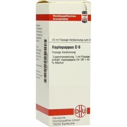 HAPLOPAPPUS D 6, 20 ML, Dhu-Arzneimittel GmbH & Co. KG