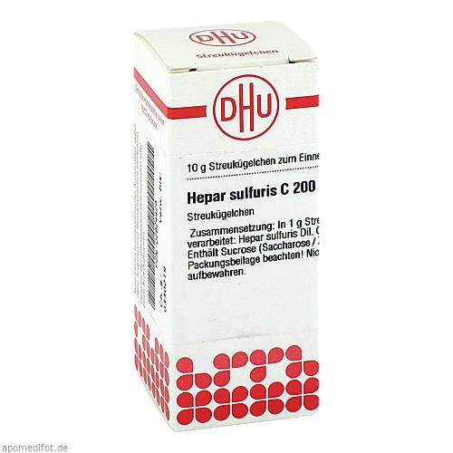 HEPAR SULF C200, 10 G, Dhu-Arzneimittel GmbH & Co. KG
