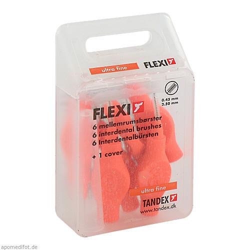 TANDEX FLEXI Interdental Bürsten Orange 0.45mm, 6 ST, Tandex GmbH