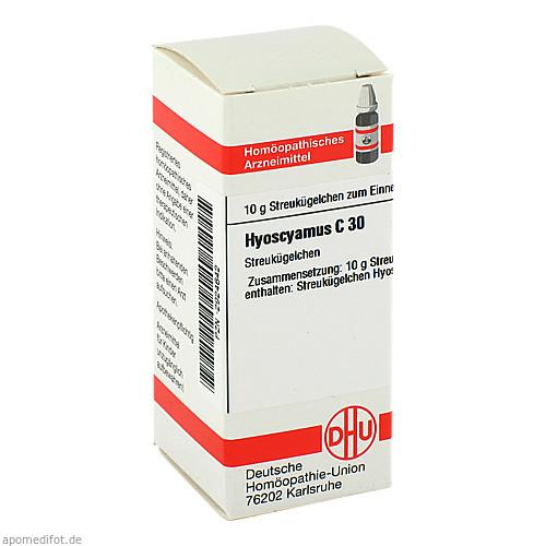 HYOSCYAMUS C30, 10 G, Dhu-Arzneimittel GmbH & Co. KG