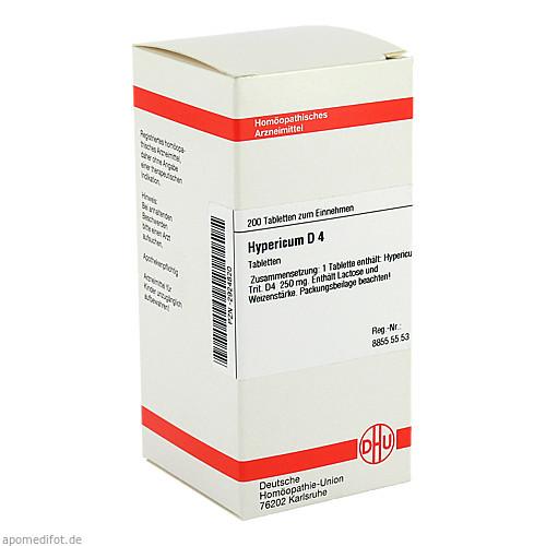 HYPERICUM D 4, 200 ST, Dhu-Arzneimittel GmbH & Co. KG