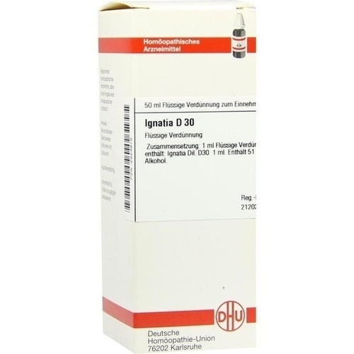 IGNATIA D30, 50 ML, Dhu-Arzneimittel GmbH & Co. KG
