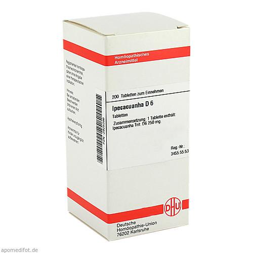 IPECACUANHA D 6, 200 ST, Dhu-Arzneimittel GmbH & Co. KG