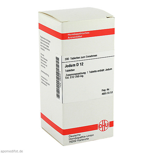 JODUM D12, 200 ST, Dhu-Arzneimittel GmbH & Co. KG