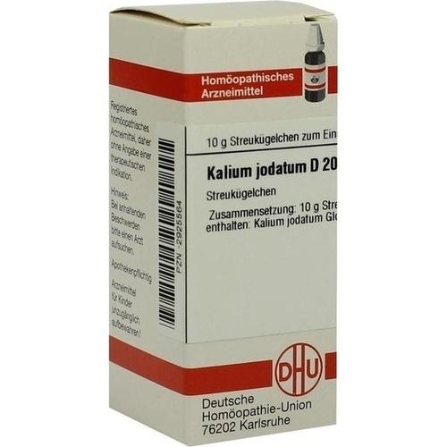 KALIUM JODAT D200, 10 G, Dhu-Arzneimittel GmbH & Co. KG