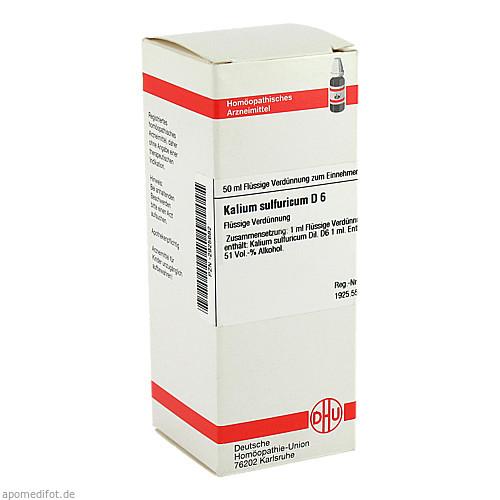 KALIUM SULFURICUM D 6, 50 ML, Dhu-Arzneimittel GmbH & Co. KG