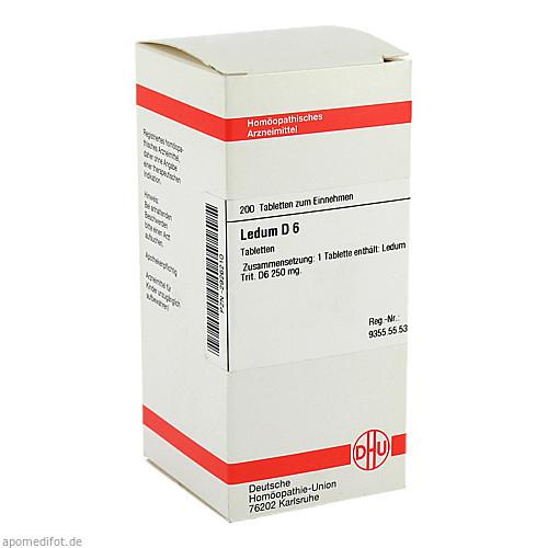 LEDUM D 6, 200 ST, Dhu-Arzneimittel GmbH & Co. KG