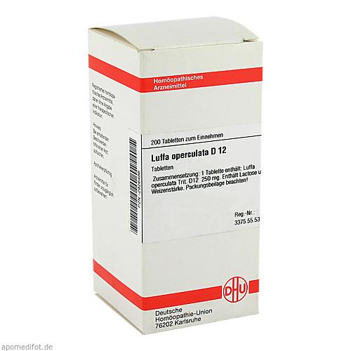 LUFFA OPERCUL D12, 200 ST, Dhu-Arzneimittel GmbH & Co. KG