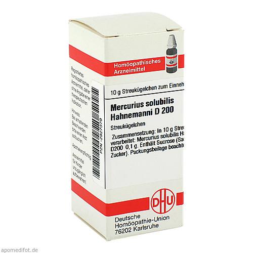 MERCURIUS SOLUB HAHNE D200, 10 G, Dhu-Arzneimittel GmbH & Co. KG