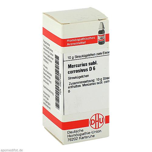 MERCURIUS SUBL CORR D 6, 10 G, Dhu-Arzneimittel GmbH & Co. KG