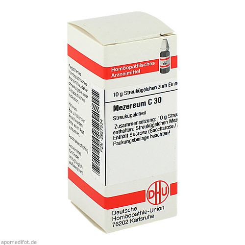 MEZEREUM C30, 10 G, Dhu-Arzneimittel GmbH & Co. KG
