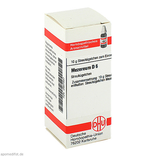 MEZEREUM D 6, 10 G, Dhu-Arzneimittel GmbH & Co. KG