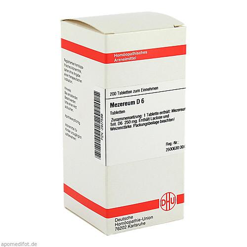 MEZEREUM D 6, 200 ST, Dhu-Arzneimittel GmbH & Co. KG