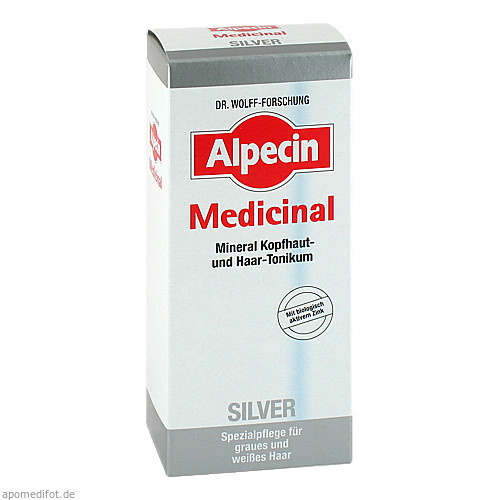 ALPECIN MEDICINAL SILVER MINERAL KOPFHAUT U.HAARTO, 200 ML, Dr. Kurt Wolff GmbH & Co. KG