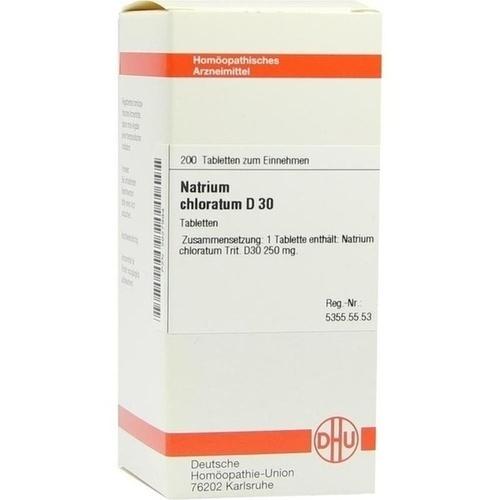 NATRIUM CHLORAT D30, 200 ST, Dhu-Arzneimittel GmbH & Co. KG